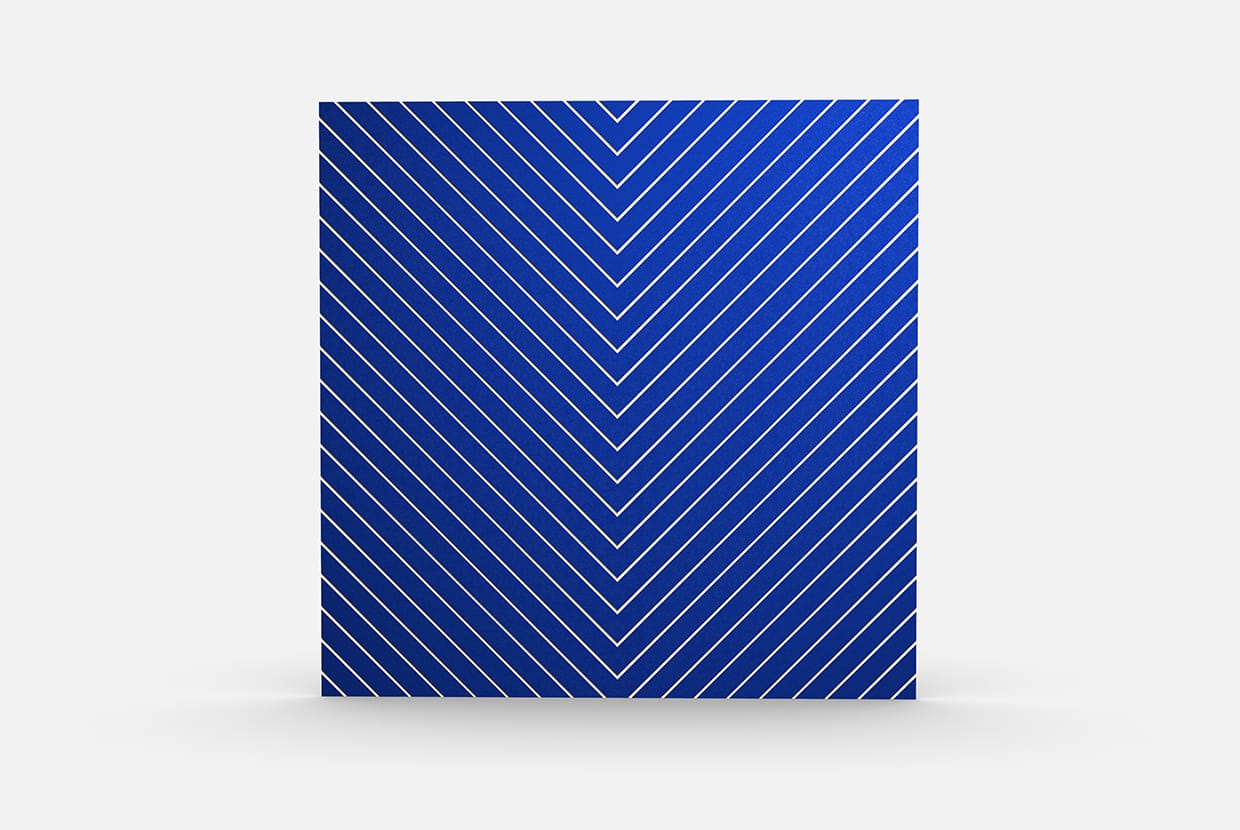 Sandsketch 4306 Chevron Color Blue Elevation Csiwallpanels